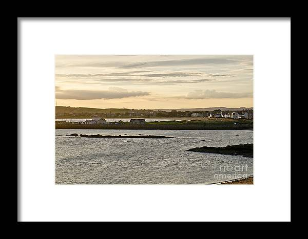 Elie Framed Print featuring the photograph Elie Dreams. by Elena Perelman