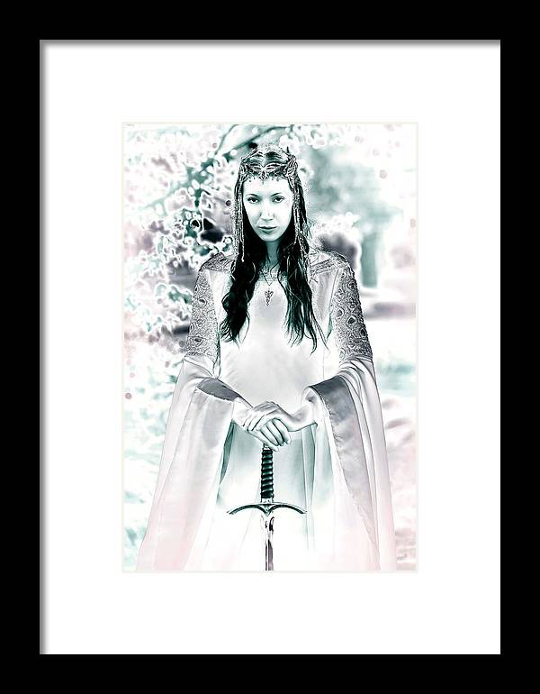 Elven Framed Print featuring the photograph Elven Princess by Dean Bertoncelj