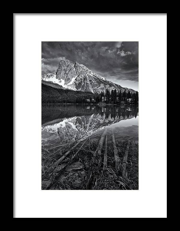 Emerald Lake Framed Print featuring the photograph Emerald Lake by Tasty Mountain Goodness