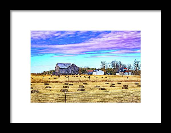 Ontario Framed Print featuring the photograph Emergence _ The Hues Of Spring - Paint by Steve Harrington