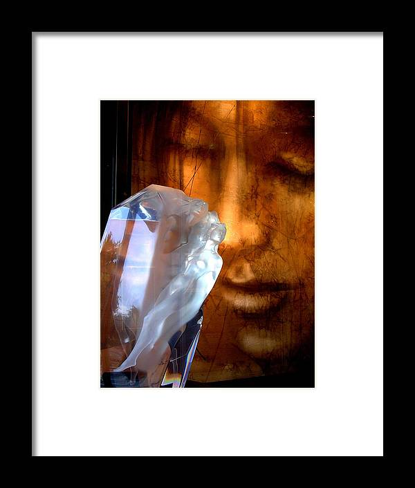 Abstract Framed Print featuring the photograph Emergence by Elizabeth Hoskinson