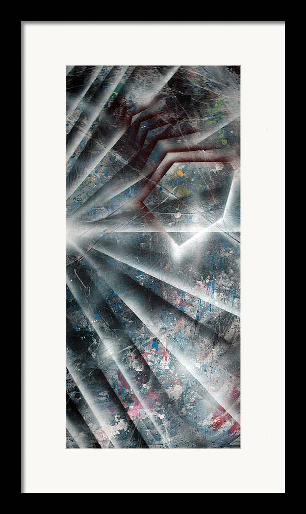 Paint Framed Print featuring the painting Emergence by Leigh Odom