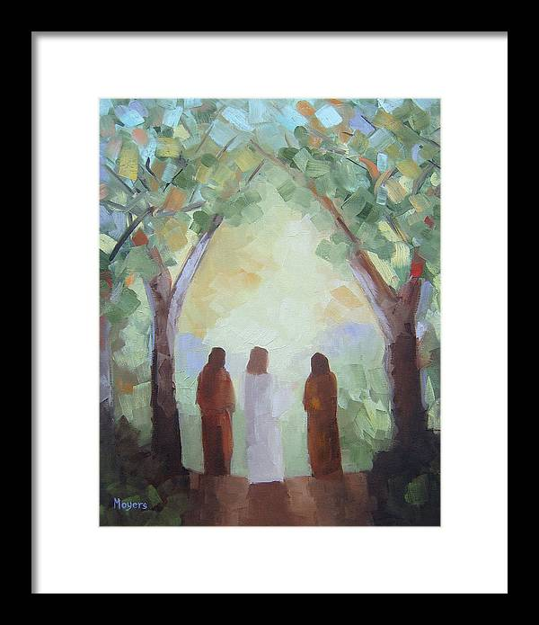 Emmaus Road by Mike Moyers