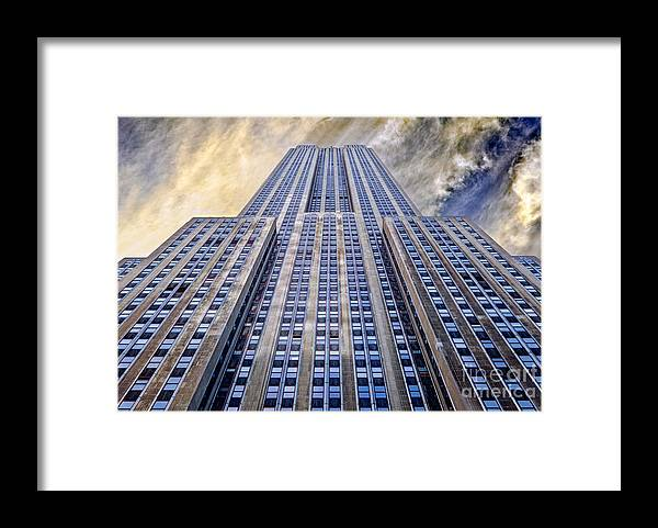 Empire State Building Framed Print featuring the photograph Empire State Building by John Farnan