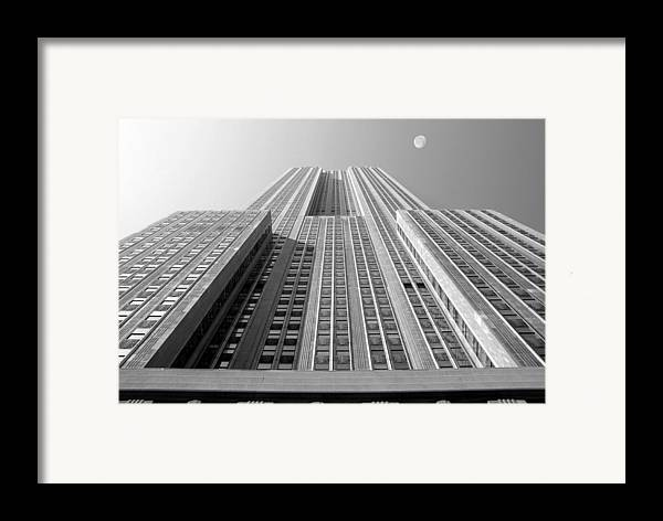 Empire State Building Framed Print featuring the photograph Empire State Building by Mike McGlothlen