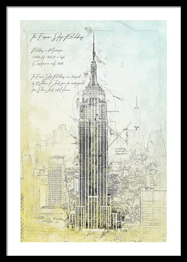 Empire State Building, New York by Theodor Decker