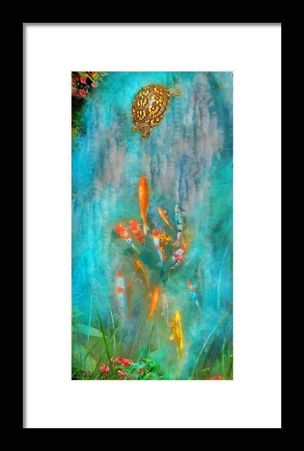 Surrealism Framed Print featuring the photograph Enchanted by Gina Signore