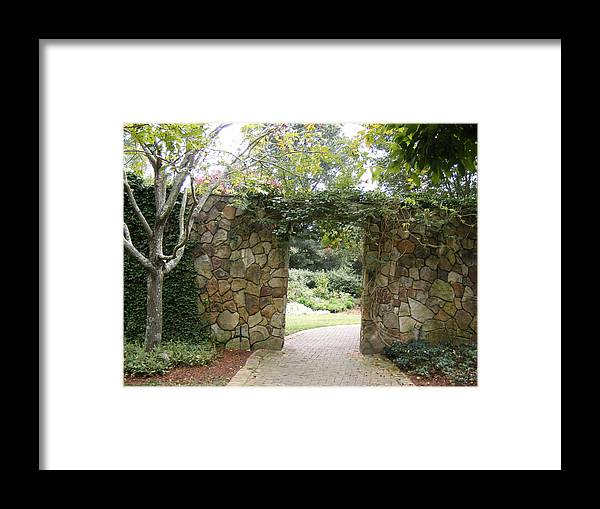 Rock Framed Print featuring the photograph Enchanted by James and Vickie Rankin