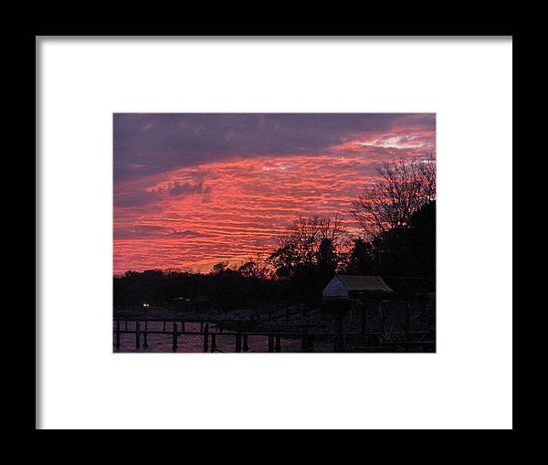 Sunset Framed Print featuring the photograph End Of Day by Nicole I Hamilton