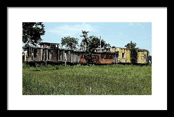 Railroad Framed Print featuring the photograph End Of The Line by Don and Sheryl Cooper