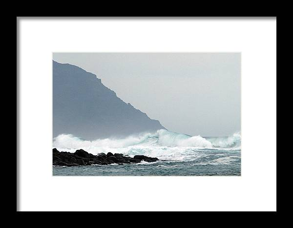 Hawaii Framed Print featuring the photograph End Of The Road by Davida Parker