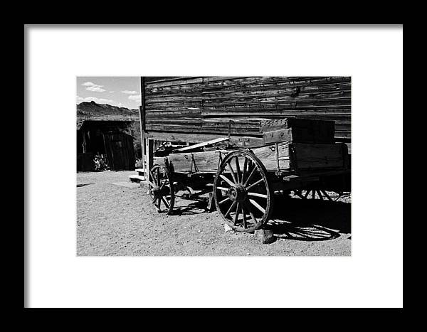 Ghost Town Framed Print featuring the photograph End Of The Road by Joanne Riske