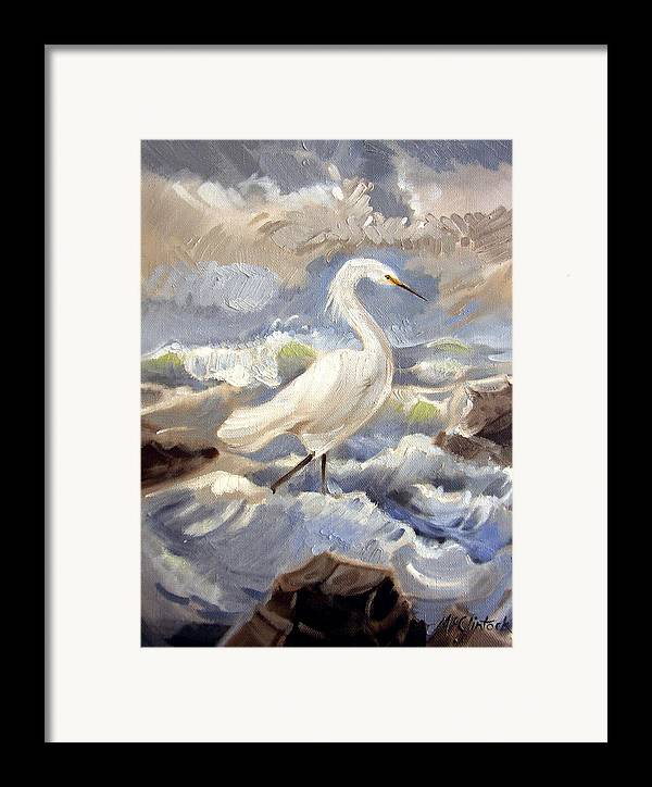Animal Framed Print featuring the painting Endangered by Patrick McClintock