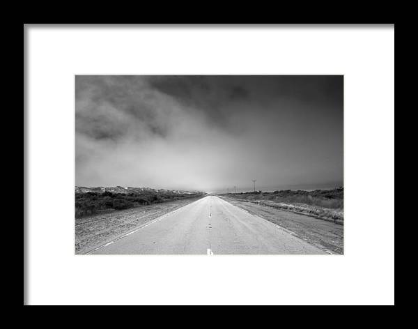Ocracoke Framed Print featuring the photograph Endless by Andreas Freund