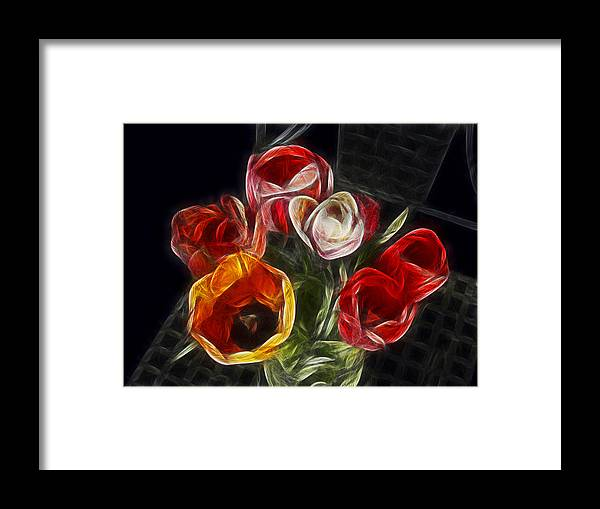 Tulip Framed Print featuring the photograph Energetic Tulips by Joachim G Pinkawa