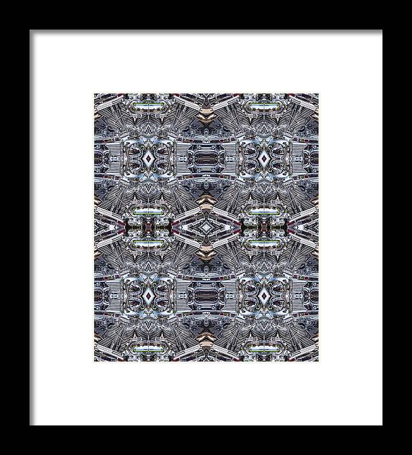 Engine Framed Print featuring the photograph Engine Chrome by Steven R Breininger