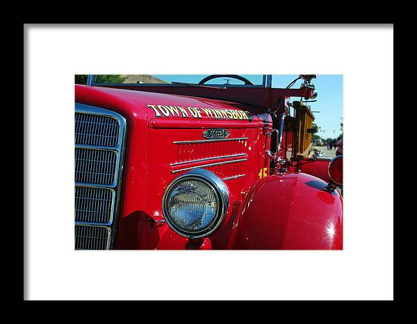 Framed Print featuring the photograph Engine No. 15 by Don Prioleau