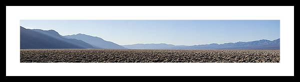 Panorama Framed Print featuring the photograph Enjoy The Silence by Mike Irwin