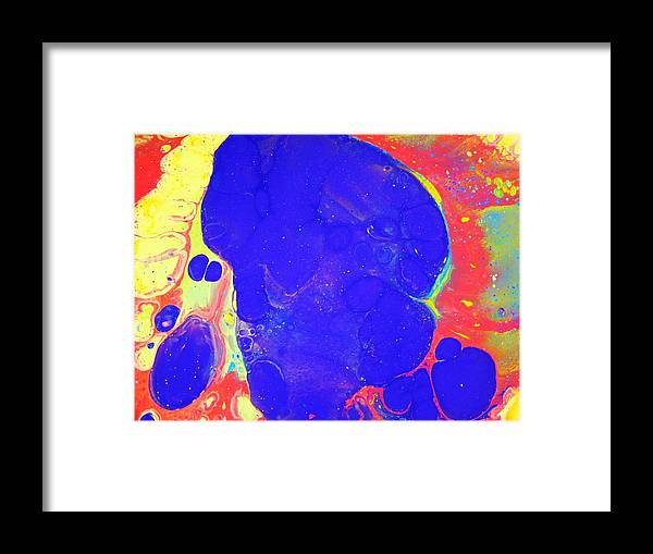 Enjoy Your Life Framed Print featuring the painting Enjoy Your Life No11 by Van Maulding