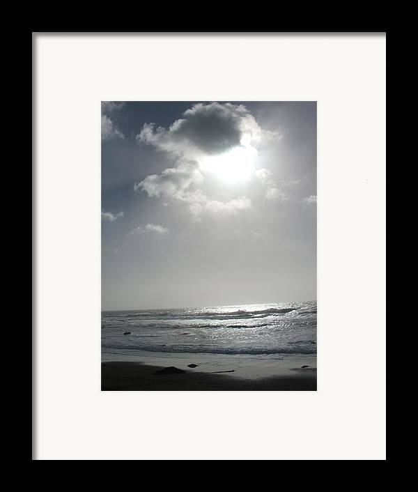 Black And White Framed Print featuring the photograph Enlightened by Shari Chavira