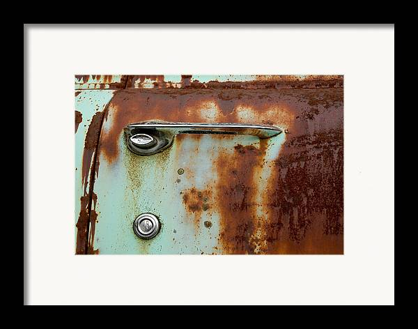 Door Framed Print featuring the photograph Enter by Jennifer Owen
