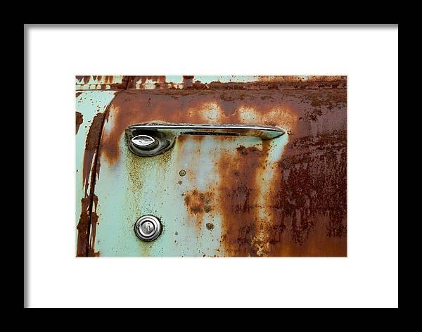 Door Framed Print featuring the photograph Enter by Jennifer Owen