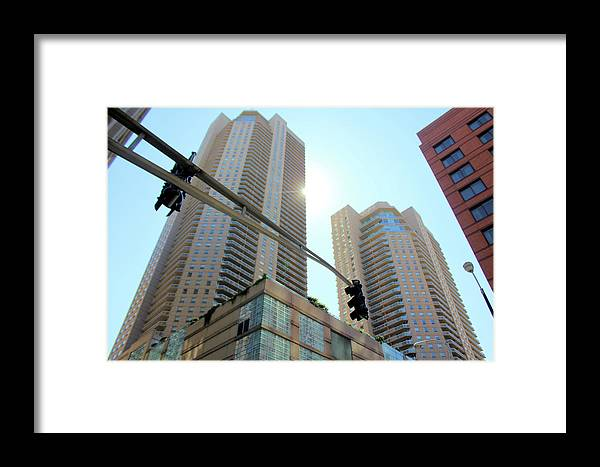 Chicago Framed Print featuring the photograph Entersection by Tyquill Williams