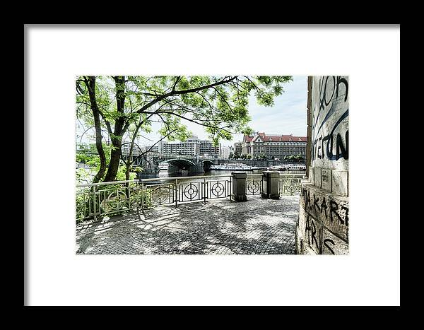 Central Europe Framed Print featuring the photograph Entry To Prague by Sharon Popek