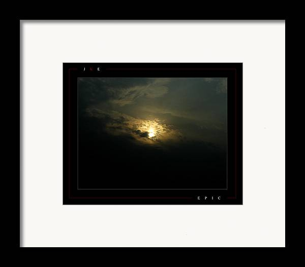 Sun Framed Print featuring the photograph Epic by Jonathan Ellis Keys