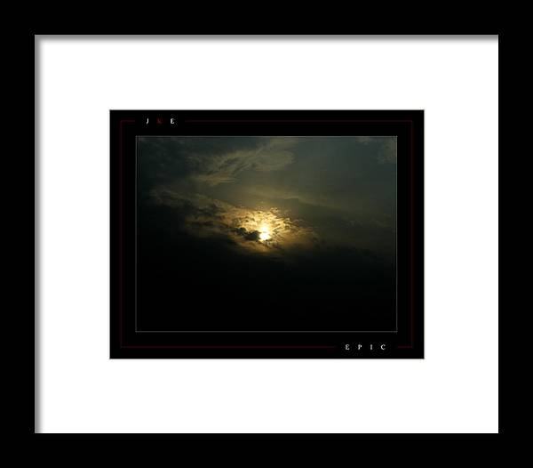 Sun Framed Print featuring the photograph Epic by Jonathan Ellis Keys