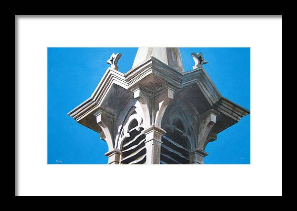 Realistic Framed Print featuring the painting Epilogue by William Brody