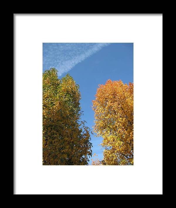 Autumn Framed Print featuring the photograph Equinox by James Barnes