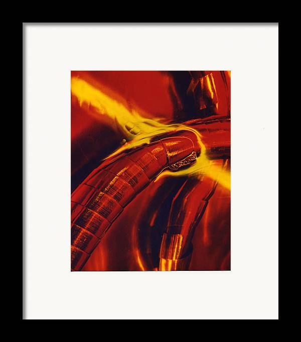 Abstract Framed Print featuring the photograph Eritico by David Rivas