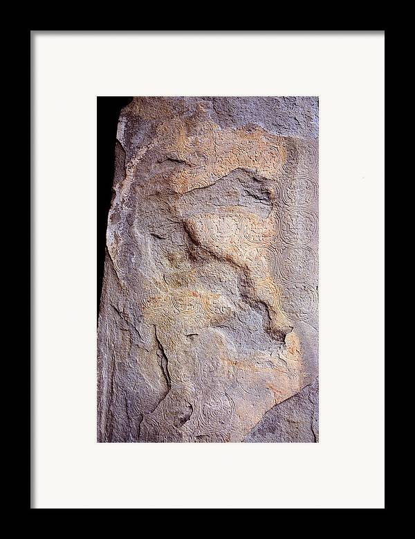 Erosion Angkor Framed Print featuring the photograph Erosion by Marcus Best