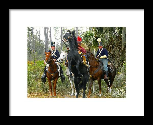 Seminole Indians Framed Print featuring the photograph Escape Of Billy Bowlegs by David Lee Thompson
