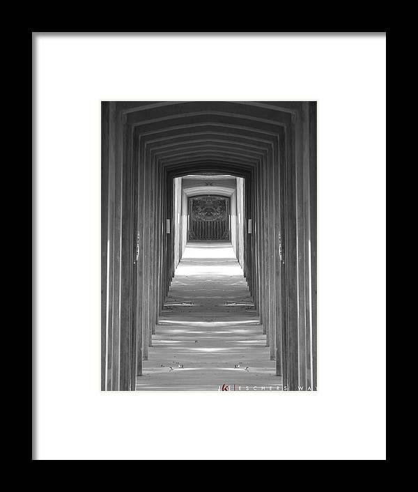 M.c. Escher Framed Print featuring the photograph Eschers Way by Jonathan Ellis Keys