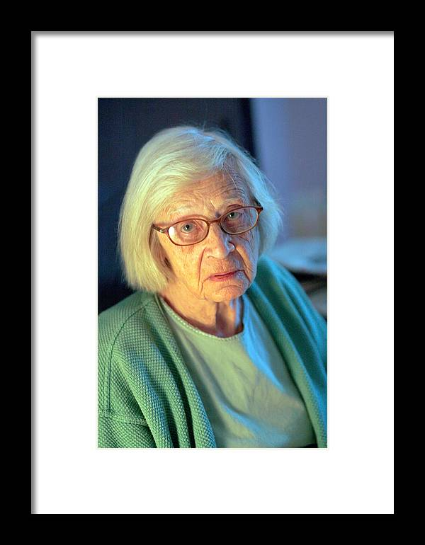 Sorrow Framed Print featuring the photograph Esies Sorrow by John Toxey
