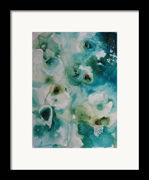 Floral Framed Print featuring the painting Essence Of Flower by Elizabeth Carr