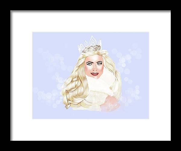 Contemporary Art Framed Print featuring the digital art Essex Girl by Jayne Hadlow