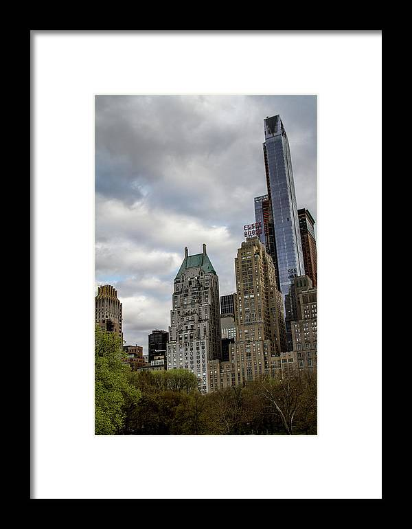 Nyc Framed Print featuring the photograph Essex House by Robert J Caputo