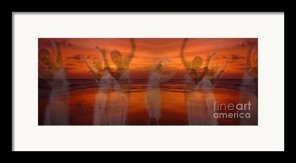 Dance Framed Print featuring the photograph Eternal Dance by Jeff Breiman
