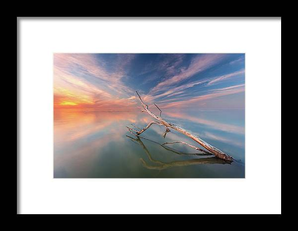 Photography Framed Print featuring the photograph Ethereal Plane by Mike Drosos