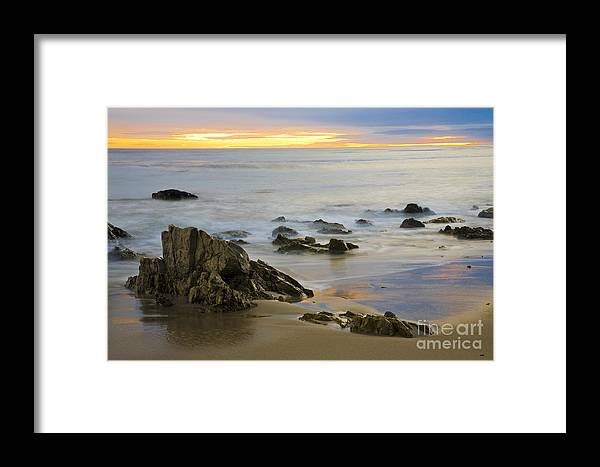 Beaches Framed Print featuring the photograph Ethereal Seas by Greg Clure