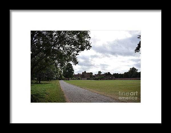 Framed Print featuring the photograph Eton College, Looking South by Jordan Butterfield