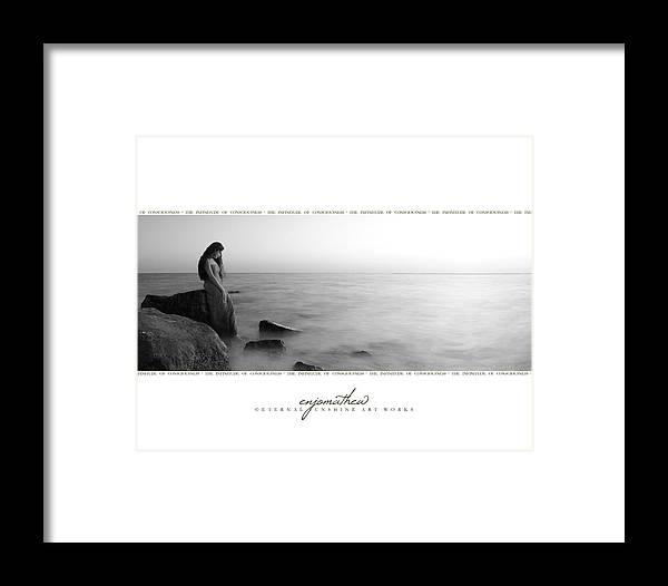 Goddess Framed Print featuring the photograph Euphrosyne. by Enjo Mathew