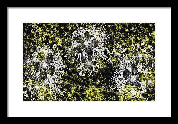 Digital Art Framed Print featuring the greeting card Eve Series 3 by Evelyn Patrick