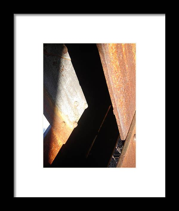 Architectural Framed Print featuring the photograph Even Angle by Dean Corbin