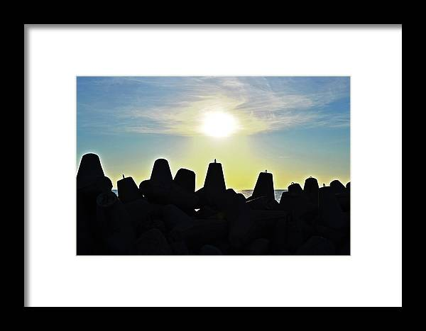 Evening Framed Print featuring the photograph Evening By The Sea by HazelPhoto