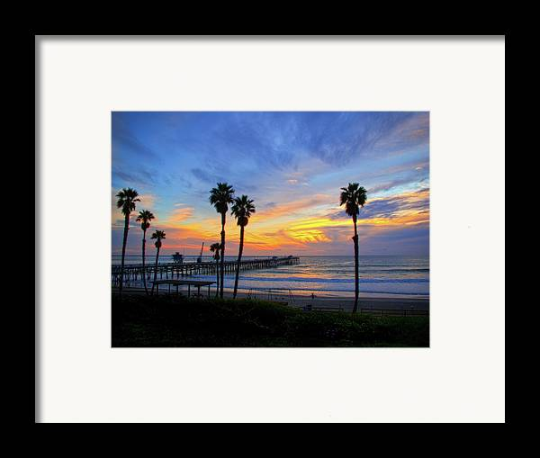 Pacific Ocean Framed Print featuring the photograph Evening Light by Carl Jackson