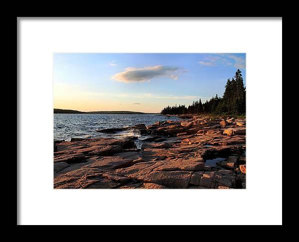 Travel Framed Print featuring the photograph Evening Light by Scott Bricker